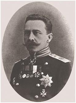 Gen. piechoty Władysław Kłembowski dowódca XVI korpusu.